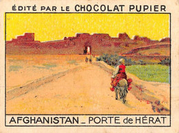 PIE-FO-21-2895 : AFGHANISTAN. PORTE DE HERAT. EDITION DU CHOCOLAT PUPIER. - Afghanistan