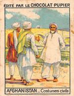 PIE-FO-21-2897 : AFGHANISTAN. COSTUMES CIVILS. EDITION DU CHOCOLAT PUPIER. - Afghanistan