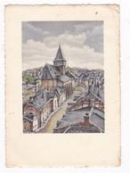 Jolie CPM Illustrée Dessin De Géo Fosty, Bastogne, Wallonnie, Belgque - Bastenaken