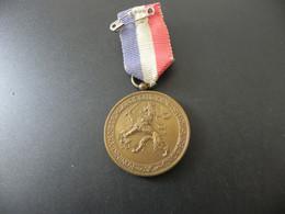 Medal Nederlandsch Gymnastiek Verbond - Holland Tournee 1937 - Unclassified