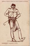 GRÈCE SALONIQUEGendarme Crétois  ....... Carte D'illustrateur - Griekenland