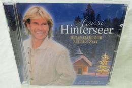"""CD Hansi Hinterseer """"Jedes Jahr Zur Selben Zeit"""" Mit Einer Wahren Weihnachtsgeschichte - Canzoni Di Natale"""