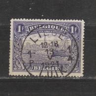 COB 145 Oblitération Centrale LIEGE 1 - 1915-1920 Albert I