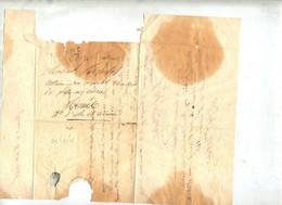 Lettre Cachet Clermont Ferrand 1928 - 1801-1848: Precursors XIX