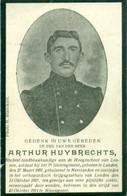 WO1 / WW1 - Doodsprentje Arthur Huybrechts - Landen / Nieuwpoort / Landen  - Gesneuvelde - Obituary Notices