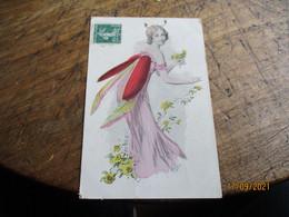Femme Insecte Hanneton Ou Autre Illustrateur - Women