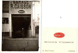 GARAGE BUGATTI . ROGER CAISSON . 12 BD CARNOT . CANNES . 1935 - Cars