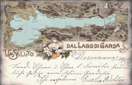 Lombardia - Brescia - Desenzano  - Un Saluto Dal Lago Di Garda - - Brescia