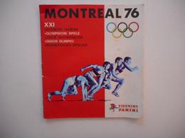 JEUX OLYMPIQUES 1976 MONTREAL, ALBUM IMAGES PANINI TOUS LES SCANS - Sport