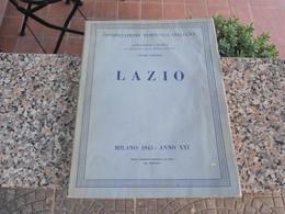 LAZIO - Consociazione Turistica Italiana - 1943 - Fotografia