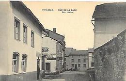 CPA/PK   -  VIELSALM     Rue De La Gare  (  Fabrique De Meubles  ) - Vielsalm
