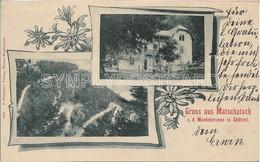 AK OLD POSTKARD - GRUSS AUS MATSCHATSCH (APPIANO SULLA STRADA DEL VINO) - VEDUTINE , VIAGGIATA 1899 -  P49 - Bolzano (Bozen)