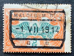 TR46 Gestempeld MALDEGEM N°2 - 1895-1913