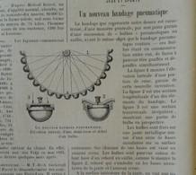 1898 BANDAGE PNEUMATIQUE - CHEMIN DE FER DU MONT TAMALPAIS - BRONZE DANS LES ATS PLASTIQUES - LES CORNES - CÉANOTHES - 1850 - 1899