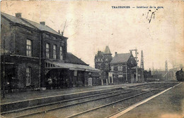 Belgique - Courcelles - Trazegnies - Intérieur De La Gare - Courcelles