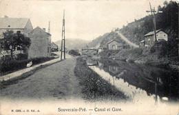Belgique - Esneux - Souverain Pré - Canal Et Gare - Esneux