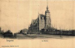Belgique - Soignies - La Station - Nels Série 68 N° 27 - Soignies