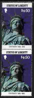 Montserrat 1986 Statue Of Liberty Centenary $4.50 Similar To M/sheet But From The Unique Multi-country Sheet Intended Fo - Montserrat