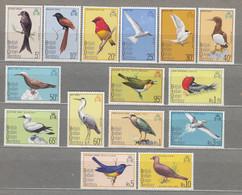 BRITISH INDIAN OCEAN TERRITORY 1975 Fauna Birds MNH(**) Mi 63-77 #31285 - Ohne Zuordnung