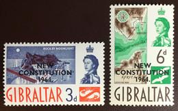 Gibraltar 1964 New Constitution MNH - Gibraltar