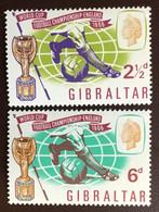 Gibraltar 1966 World Cup MNH - Gibraltar