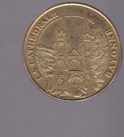 Jeton Médaille MDP Monnaie De Paris  Cathedrale Bayonne 2007 - 2007