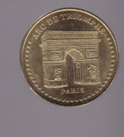 Jeton Médaille MDP Monnaie De Paris  Arc De Triomphe Paris 2007 - 2007