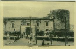 VENOSA ( POTENZA ) CASTELLO MEDIOEVALE - EDIZIONE CIOLA - 1930s ( 7771) - Potenza