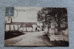 Cpa 1932, Eguilly Sous Bois, La Mairie Et L'église, Aube 10 - Other Municipalities