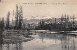 GRENOBLE    ENVIRONS    L ISERE A L ILE D AMOUR - Grenoble