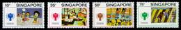 Singapore, 1979, International Year Of The Child, IYC, United Nations, MNH, Michel 335-338 - Singapore (1959-...)