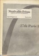 Journal Herald Tribune Supplément Pour Le Salon Du Bourget 1967 - Trasporti
