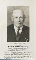 DOODPRENTJE - AUGUST PIERRE DECLERCO (° OOSTENDE 1886 +/- OOSTENDE 1958  ) (dp 119) - Obituary Notices