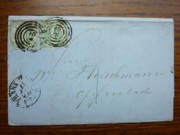 1864  Letter   PERFEKT FRANKFURT - Covers