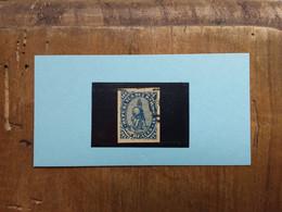 PARAGUAY 1860 - Leone Araldico N. 2 Timbrato + Spese Postali - Paraguay