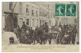 Funérailles Des Victimes Du PLUVIOSE  ( Sous-Marin Français ) Du 26 Mai 1910 - Onderzeeboten
