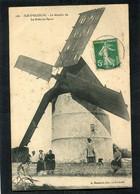 CPA - ILE D'OLERON - Le Moulin De La Brée Les Bains, Animé - Ile D'Oléron