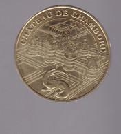 Jeton Médaille MDP Monnaie De Paris Château De Chambord 2008 - 2008