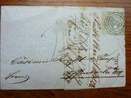 1862  Letter   PERFEKT OBERTIEFENBACH - Covers
