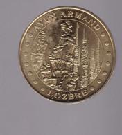 Jeton Médaille MDP Monnaie De Paris Aven Armand Lozère 2009 - 2009