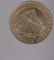 Jeton Médaille MDP Monnaie De Paris Le Parc Du Futuroscope Kenema 2007 - 2007