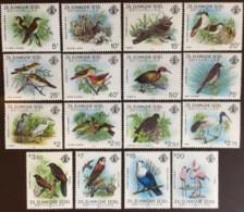 Seychelles Zil Elwagne Sesel 1983 Birds Complete Set MNH - Ohne Zuordnung