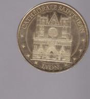 Jeton Médaille MDP Monnaie De Paris Cathédrale Saint Jean Lyon 2012 - 2012