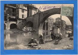 12 AVEYRON - CAMARES Le Dourdou Et Le Pont-Vieux, Lavandières - Autres Communes