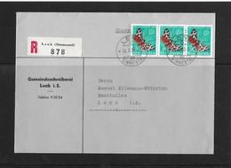 1955 HEIMAT BERN → R-Brief Gemeindeschreiberei Lenk Im Simmental      ►SBK-J154 Vorortsbrief◄ - Storia Postale