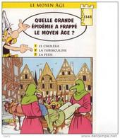 HISTOIRE Petit Lot De 50 Fiches Grand Format Sur LE MOYEN AGE - 6-12 Years Old