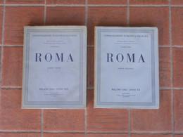 ROMA - Consociazione Turistica Italiana - Vol. 1 E 2 - Fotografia