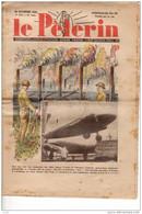 Le PELERIN 26 Nov 1939 PAT'APOUF Industrie Aéronautique Française. Le Poteau-soutien ,La Hollande Ouvre Ses Vannes - 1900 - 1949