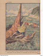 LE PELERIN 20 Octobre 1929 L'automne Dans Les Alpes , Berger, Folklore, Salon De L'automobile, Soviets, Jocistes, ... - 1900 - 1949