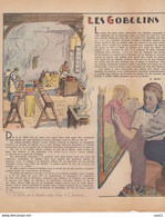 LE PELERIN 13 Mars 1938  Tête De Pêcheur Planche Patapouf (en Noir Et Blanc), Les Gobelins - 1900 - 1949